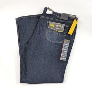 Lee Relaxed Fit Jeans Straight Leg Big & Tall